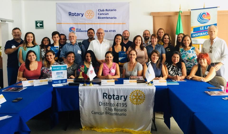 club rotario cancun
