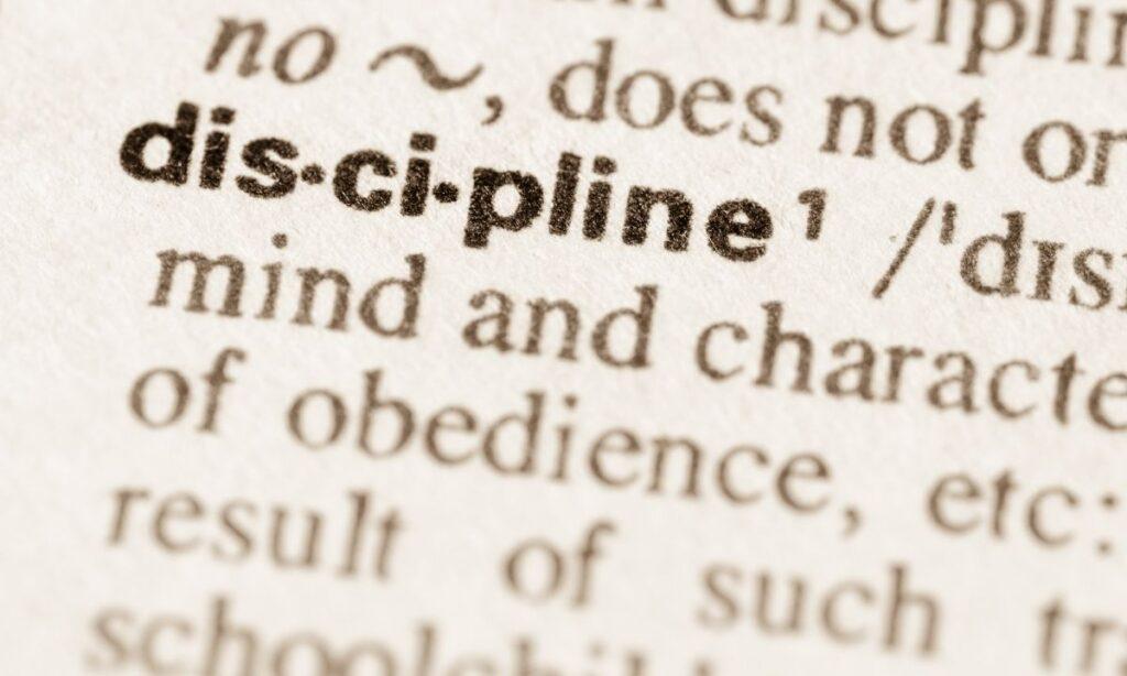 7 mitos sobre la disciplina que necesitas dejar de creer