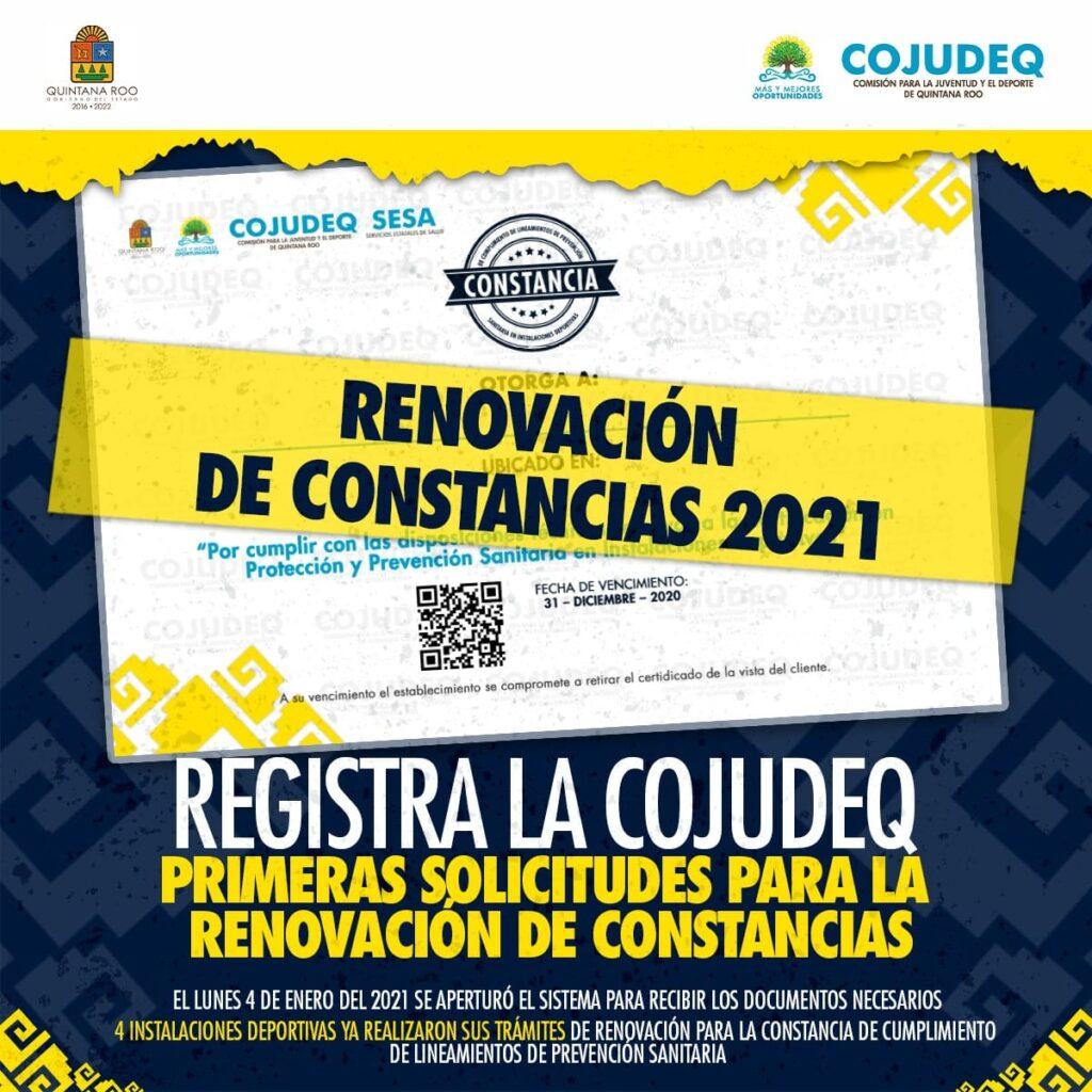 Registra la COJUDEQ primeras solicitudes para la renovación de constancias
