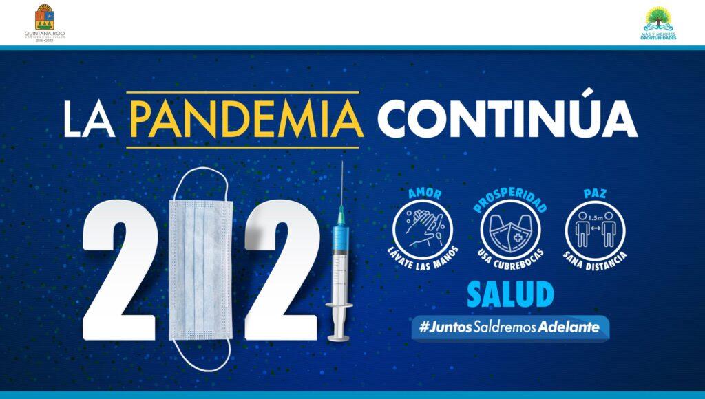 Llega el año 2021 con la esperanza de una vacuna