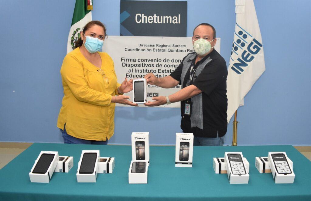 El IEEA firma convenio de colaboración con el INEGI