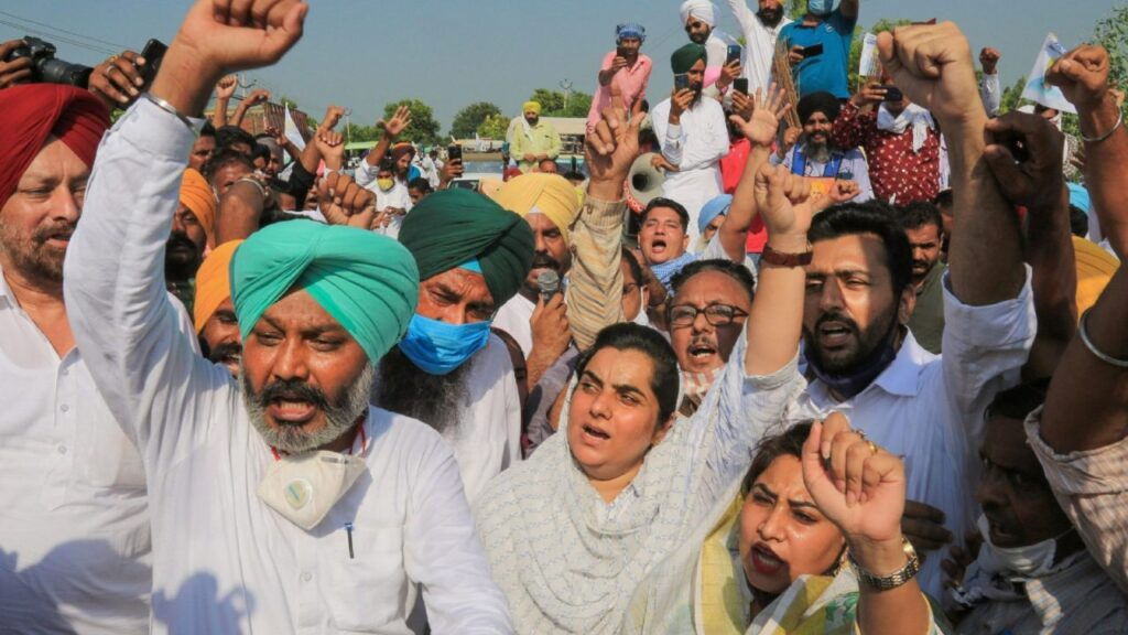 Las protestas agrícolas en India están escribiendo el obituario de la Revolución Verde