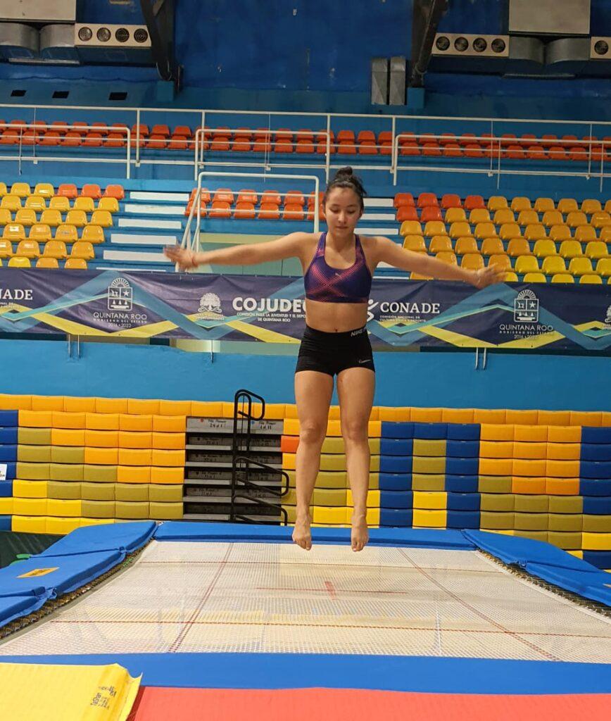 Gimnasia de trampolín, el nuevo deporte en Quintana Roo