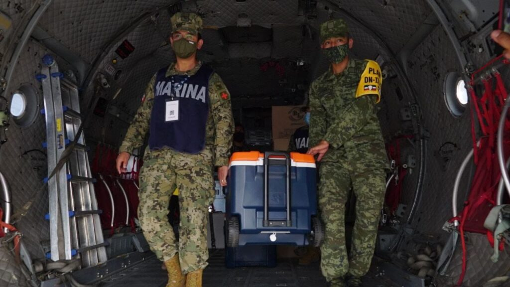 Llega a Quintana Roo el tercer lote de vacunas contra la covid-19