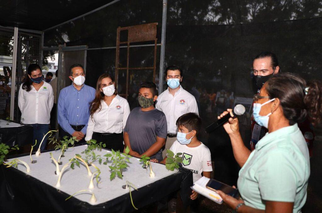Inauguran un Huerto Urbano en Cancún