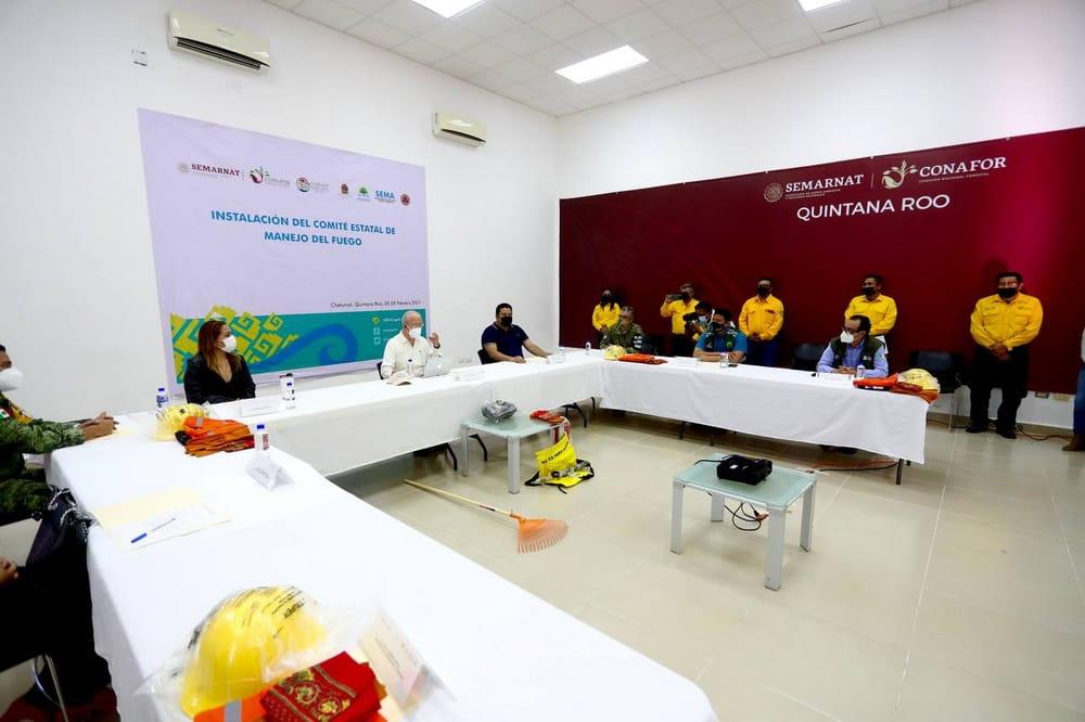 Prevención: clave para evitar incendios forestales en Quintana Roo