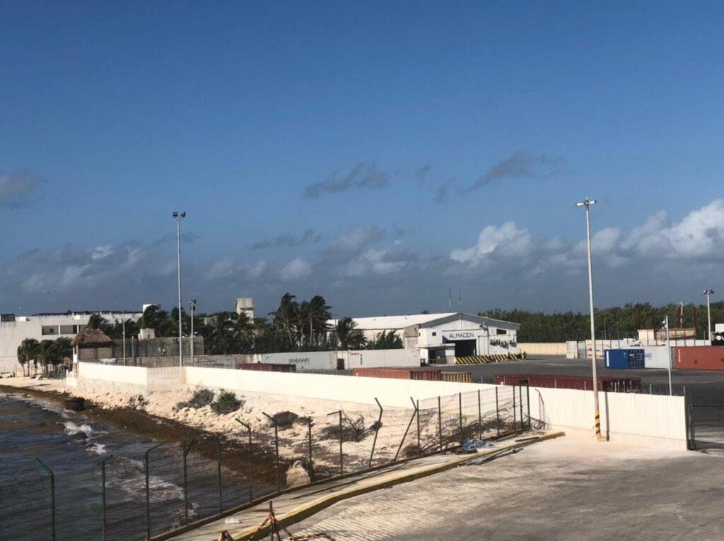 Mayor seguridad en la terminal marítima de Puerto Morelos
