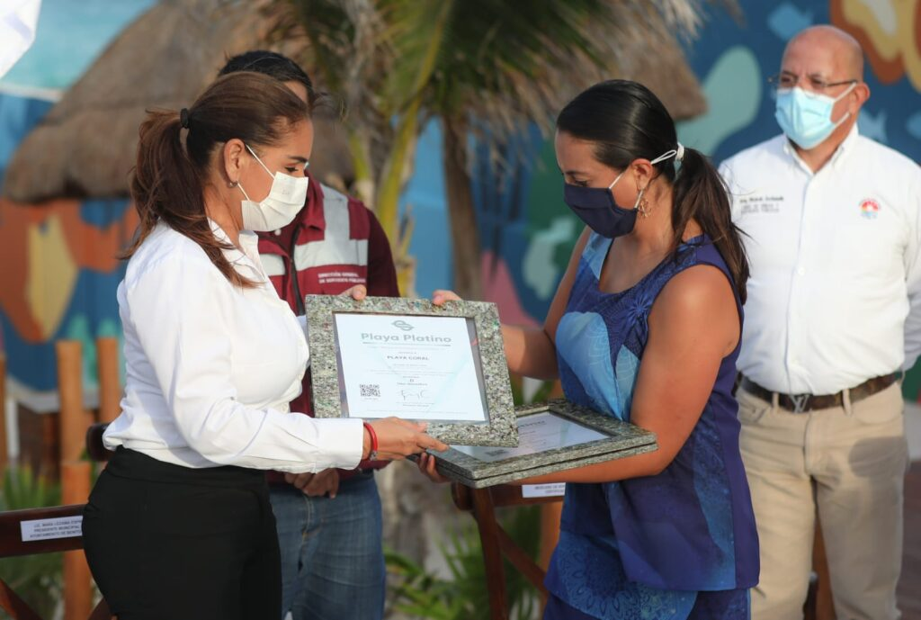 Cancún, líder en Playas Platino en México