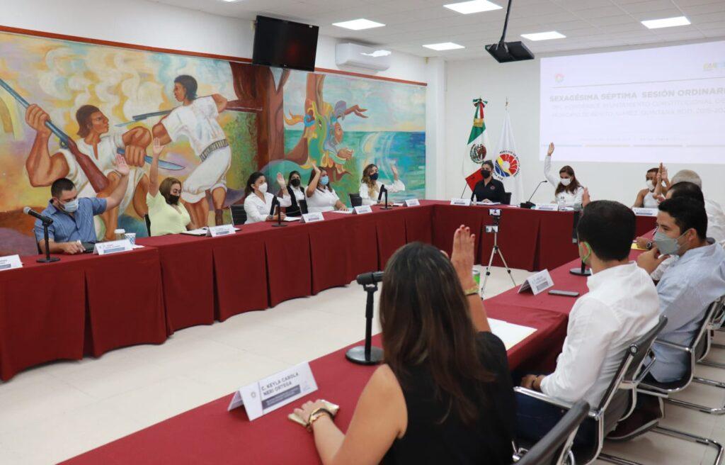 Aprueba cabildo de Cancún importante paquete de obras