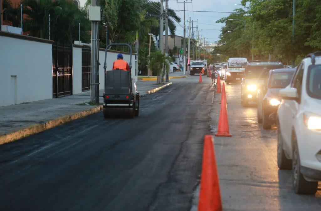 Atiende Ayuntamiento de Benito Juárez vialidades en Cancún