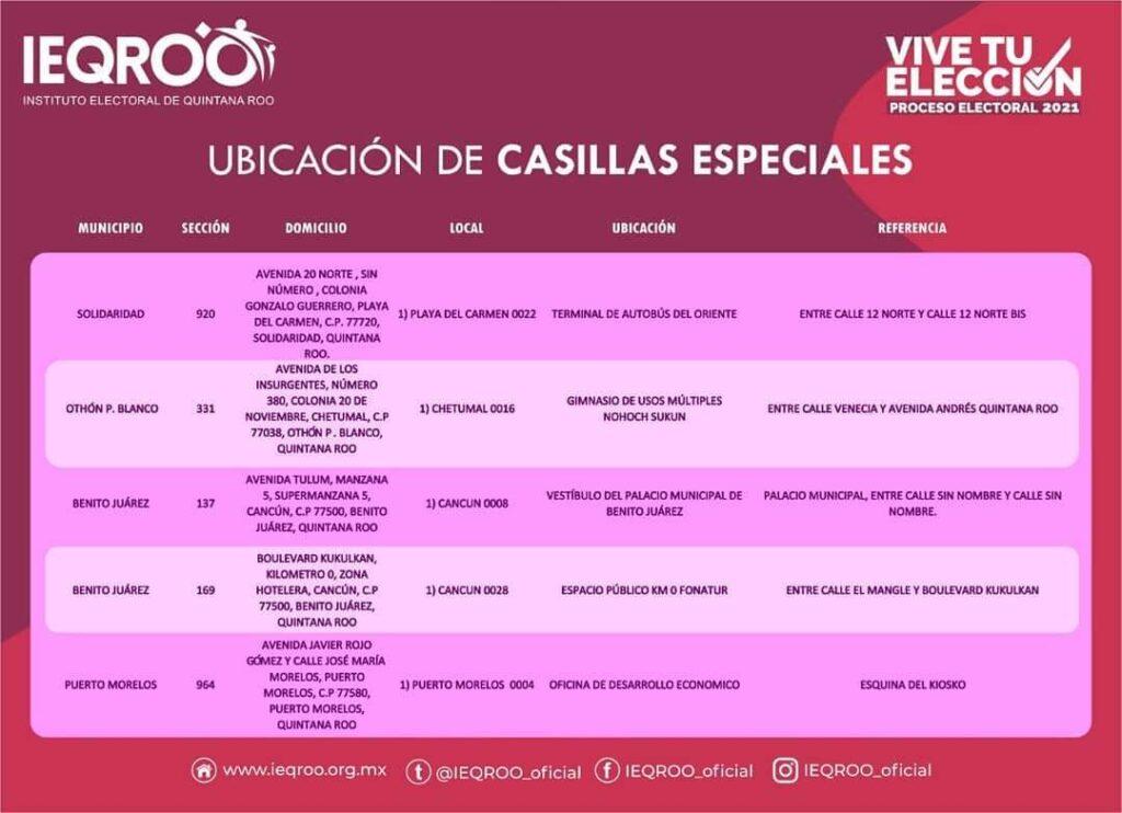 IEQROO LISTO PARA JORNADA ELECTORAL i love cancun