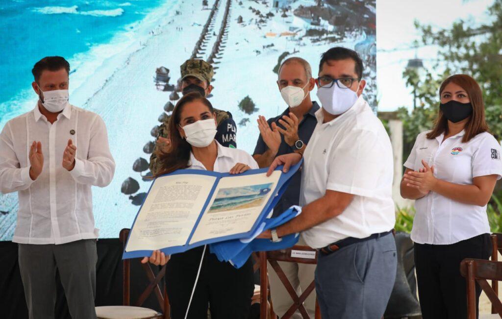 Cancún se coloca a la vanguardia con 39 distintivos Blue Flag