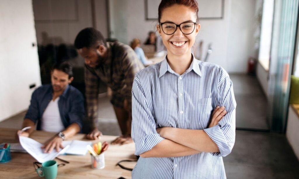 Emprendedores jovenes