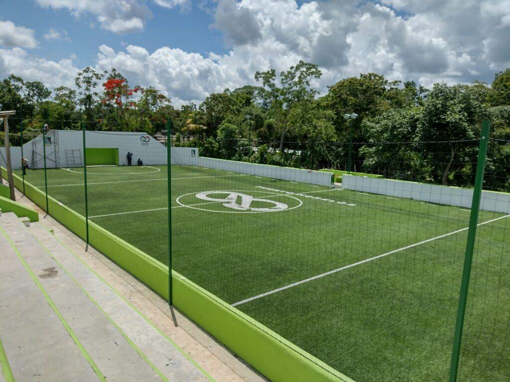 instalaciones deportivas en Leona Vicario