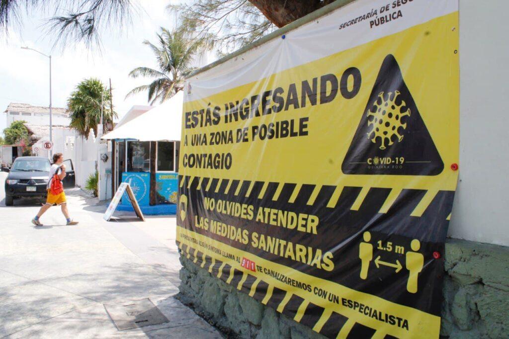 Fortalecen campaña para hacer frente a la pandemia en Puerto Morelos