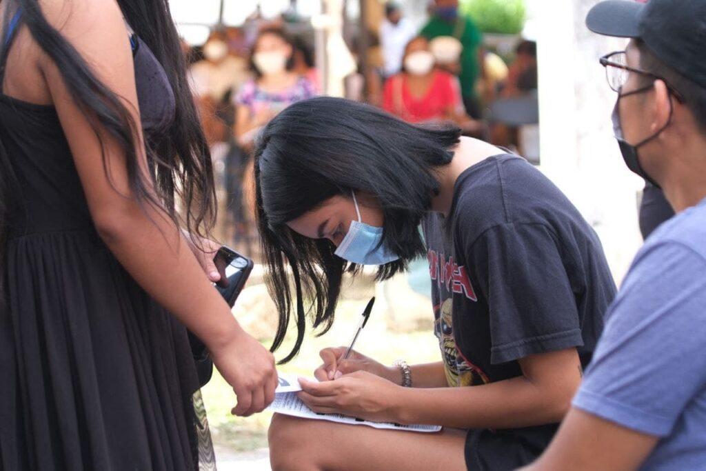 Aumenta afluencia de jóvenes de 18 a 29 años al modulo de vacunación